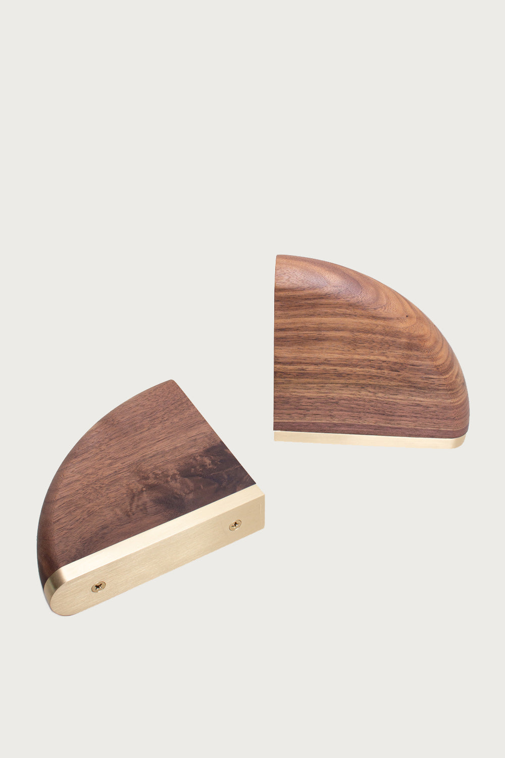 Elijah Leed Bookends in Burl Wood - Vert & Vogue
