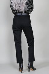 Bismark Pant in Very Black