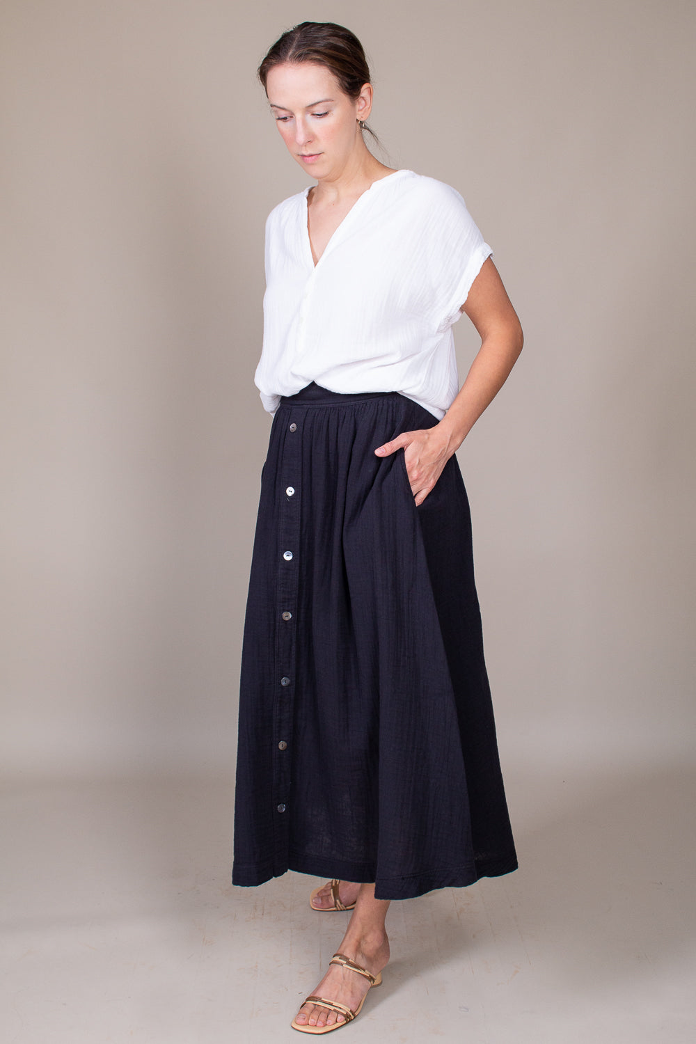 Teagan Skirt in Black