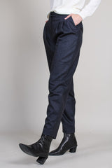 Farina Pants in Black Melange