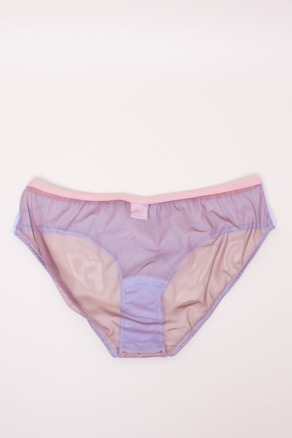 Only Hearts Whisper Colorblock French Brief in Powder Room - Vert & Vogue
