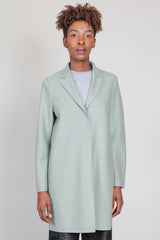Cocoon Coat in Rosemary