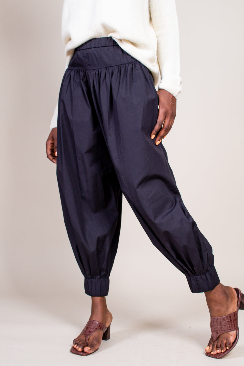 Page Trouser in Black