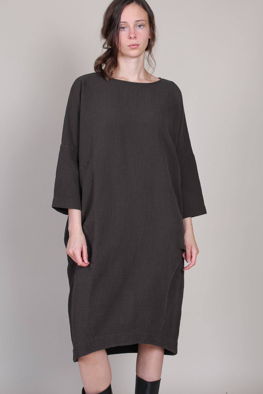 Bud Dress in Dark Grey