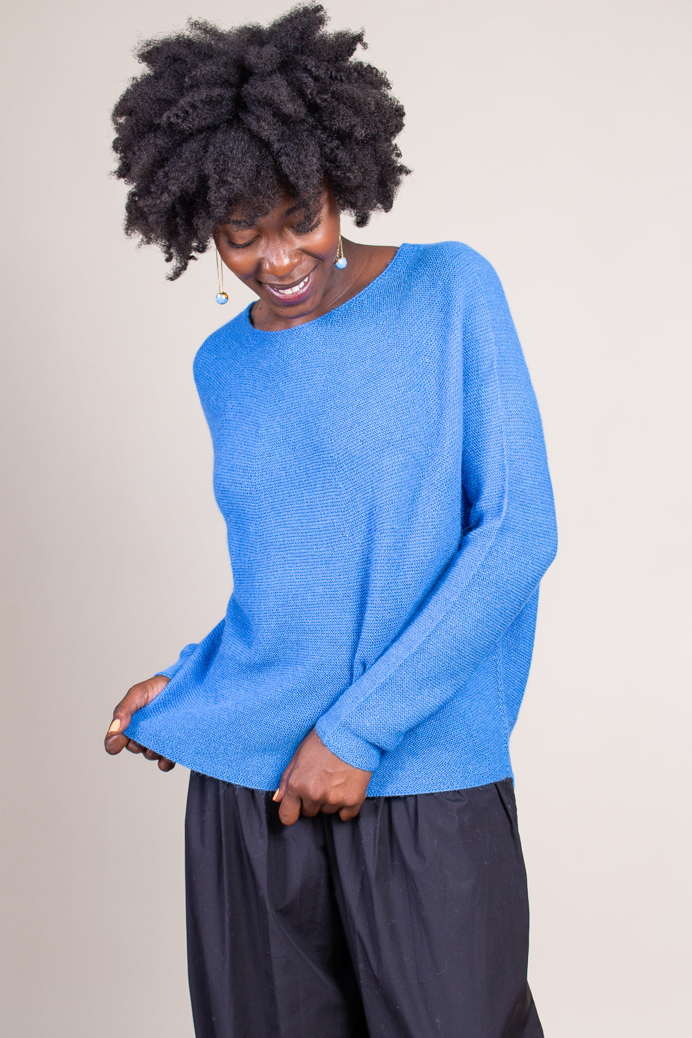 Kasima Sweater in Azure
