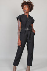 Ranks Jumpsuit in Black