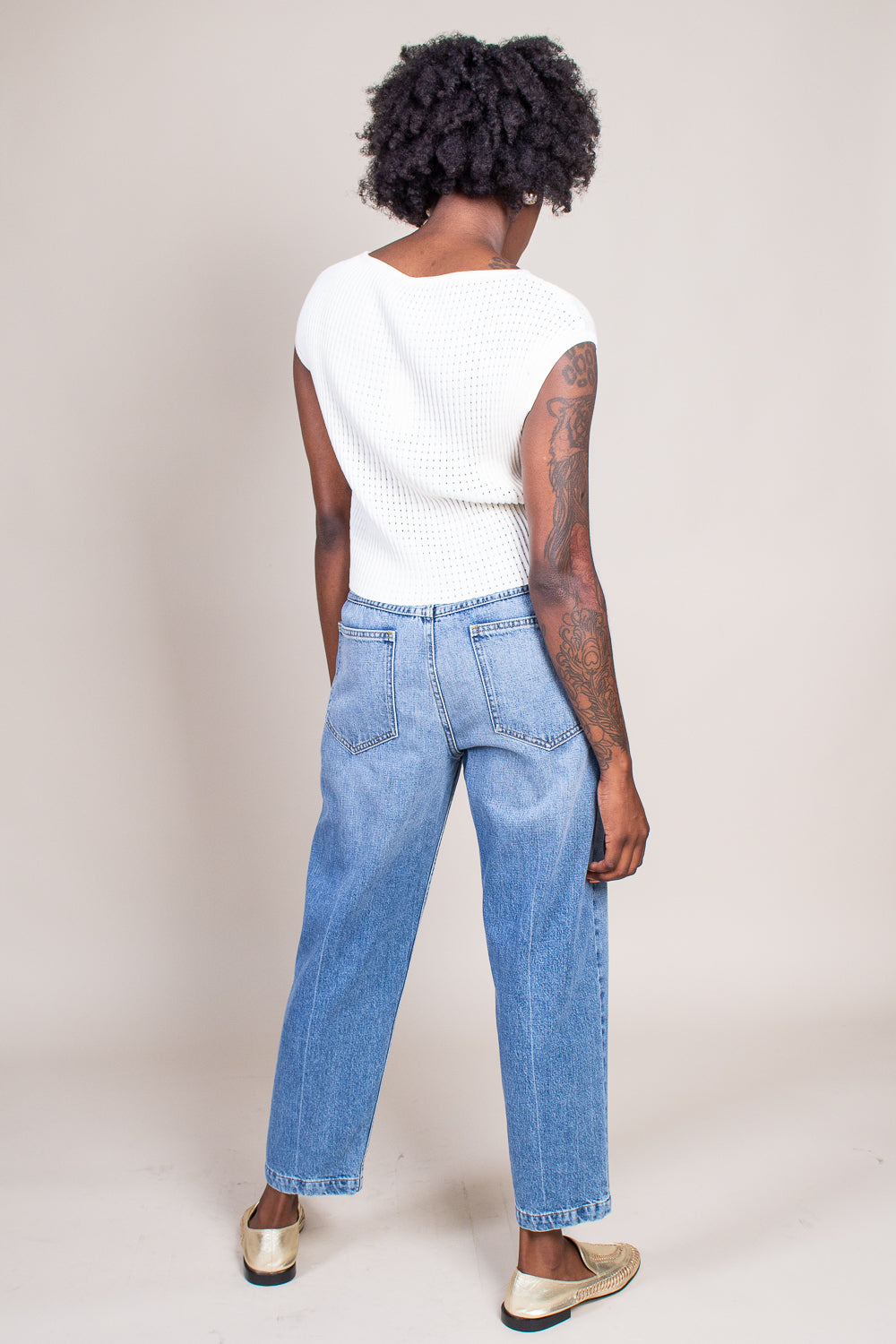 Pseudo Pant in Washed Indigo