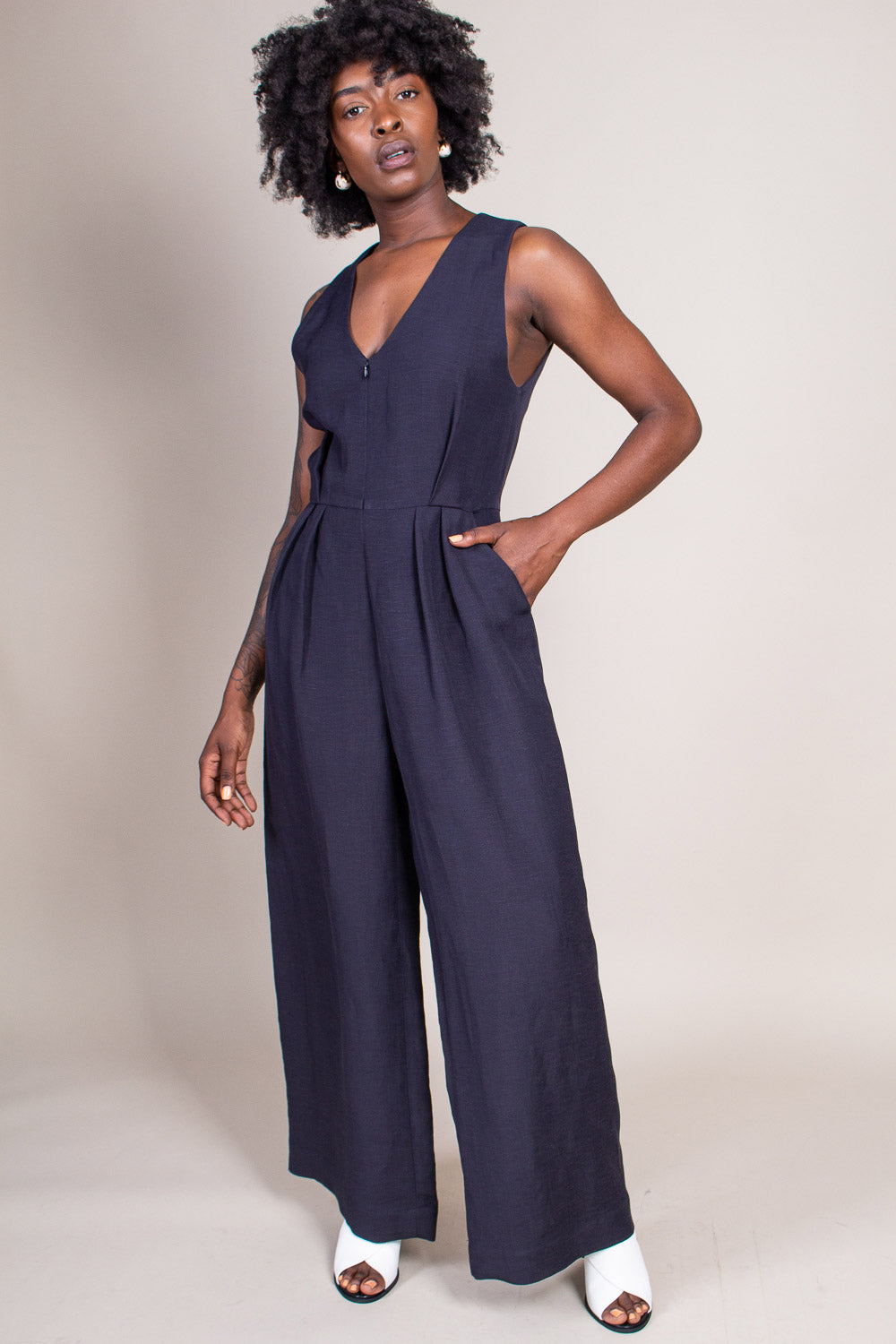 Valor Jumpsuit in Black