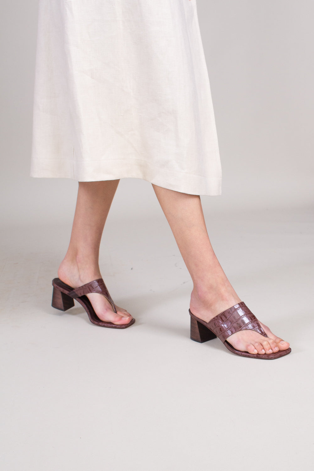 Copa Sandal in Chocolate