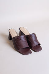 Mari Giudicelli Gisele Sandal in Chocolate - Vert & Vogue