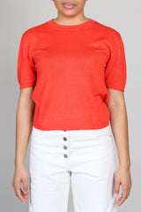 Adagio Top in Coral