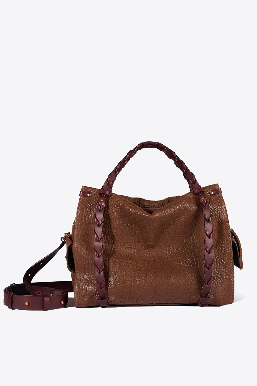 Yannick Handbag in Bronze