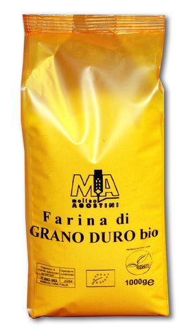 ORGANIC DURUM WHEAT SEMOLINA