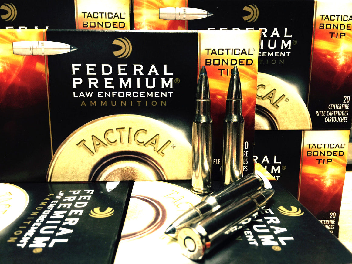 308 (7.62x51) 168gr Federal Tactical Bonded (LE308TT2) - Bone Frog Gun Club