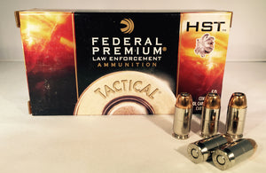 45 ACP 230GR +P Federal Premium Tactical HST JHP (P45HST1) - Bone Frog Gun Club