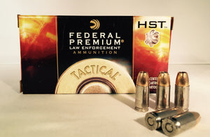 9MM 124GR +P Federal Premium Tactical HST JHP (P9HST3) - Bone Frog Gun Club