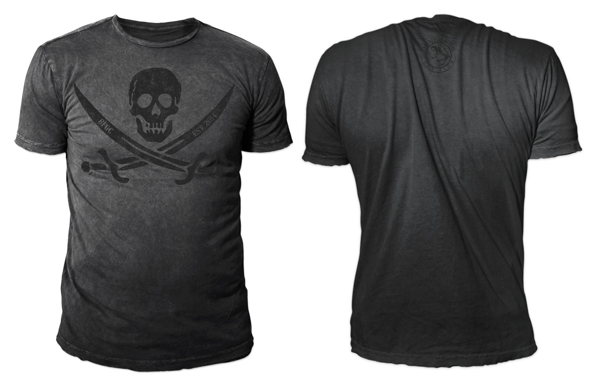 BFGC Jolly Roger T-Shirt - Bone Frog Gun Club