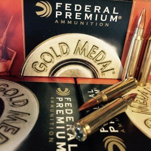 223 REM 69GR Federal, Gold Metal Match Sierra Matchking BTHP, 100RDS (GM223M) - Bone Frog Gun Club