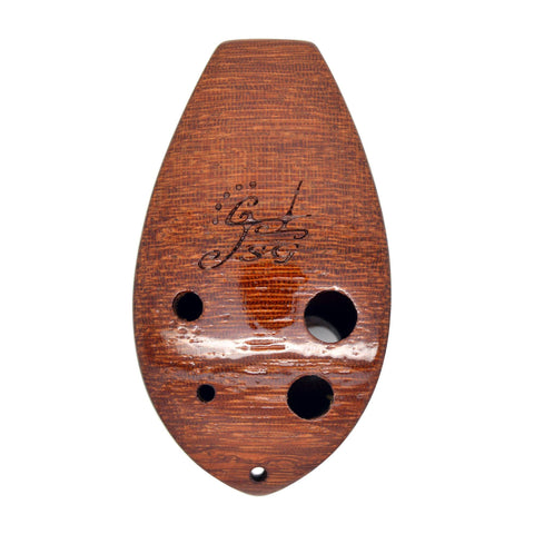 Zos handmade professional wooden 6 hole pendant ocarinas 6 hole wooden pendant ocarina mozeypictures Choice Image