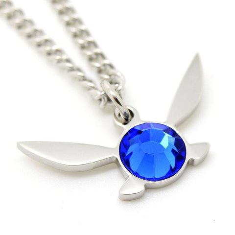 Legend of Zelda Navi Fairy Inspired Necklace - ZoS - Premium Gaming Memorabilia  - 2
