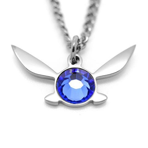 Legend of Zelda Navi Fairy Inspired Necklace - ZoS - Premium Gaming Memorabilia  - 1