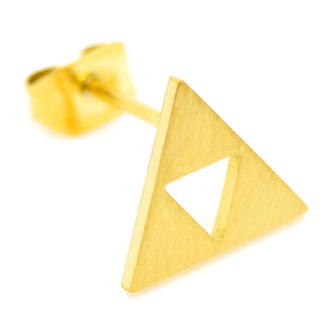 Zelda Triforce Earrings - ZoS - Premium Gaming Memorabilia  - 1