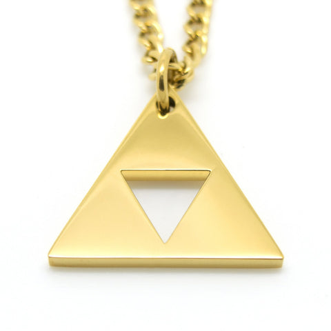 Legend of Zelda Triforce Inspired Necklace - ZoS - Premium Gaming Memorabilia  - 1