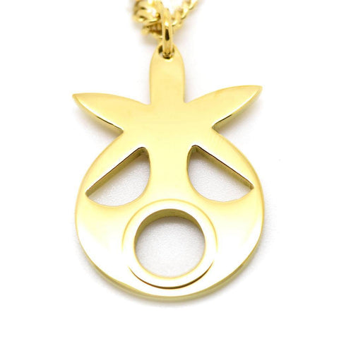 Majoras Mask Inspired Deku Scrub Mask Necklace - ZoS - Premium Gaming Memorabilia  - 1