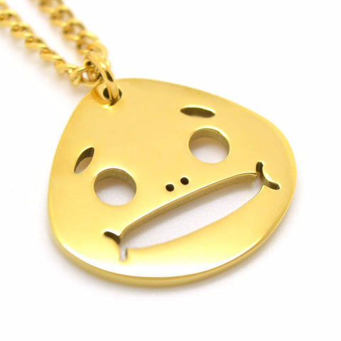 Majoras Mask Inspired Goron Mask Necklace - ZoS - Premium Gaming Memorabilia  - 1