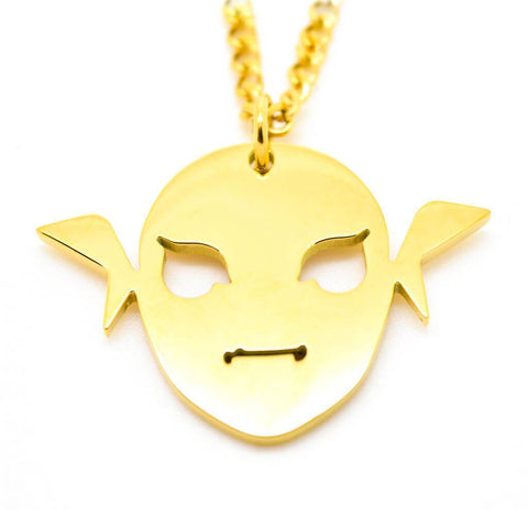 Majora's Mask Inspired Zora Mask Necklace - ZoS - Premium Gaming Memorabilia  - 1