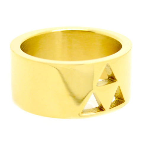 Zelda Inspired Triforce Cutout Ring - ZoS - Premium Gaming Memorabilia  - 1