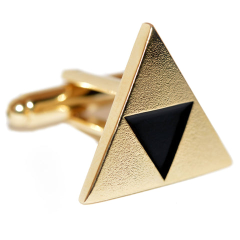 Zelda Inspired Triforce Cufflinks - ZoS - Premium Gaming Memorabilia  - 1