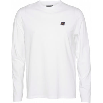 Clean Cut Copenhagen - Recycled Fabric Long Sleeve Tee - White