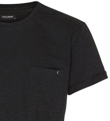 Clean Cut Copenhagen - Kolding 100% Organic Cotton Tee - Black