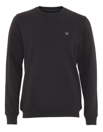 Clean Cut Copenhagen - Organic Crew Sweat - Black