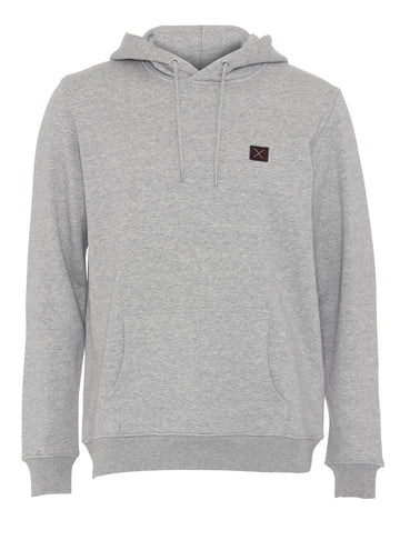 Clean Cut Copenhagen - 100% Organic Cotton Hoodie - Grey Melange