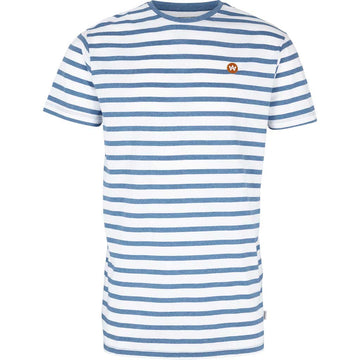 Kronstadt - Navey Recycled cotton t-shirt - Venezia Hooped