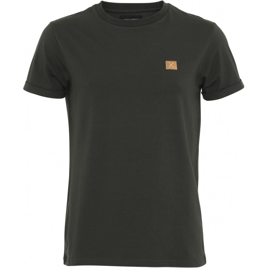 Clean Cut Copenhagen - 100% Organic Cotton T-Shirt - Bottle Green