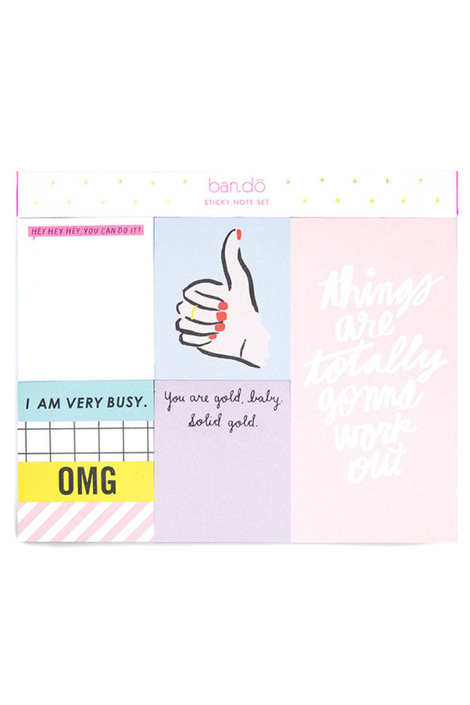 Sticky note Set- Thumbs Up