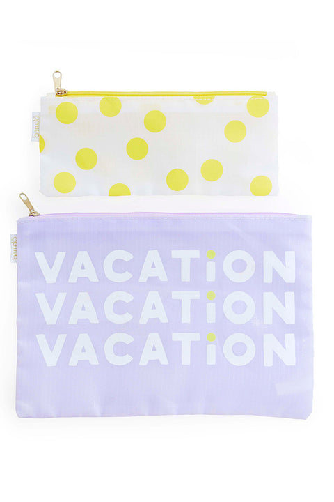 Makeup Bag Duo- Vacation