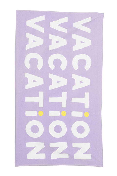 Giant Beach Towel- Vacation