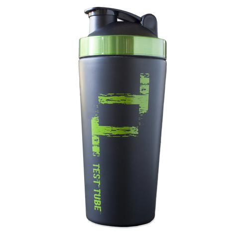 -The Test Tube Stainless Steel Protein Shaker-