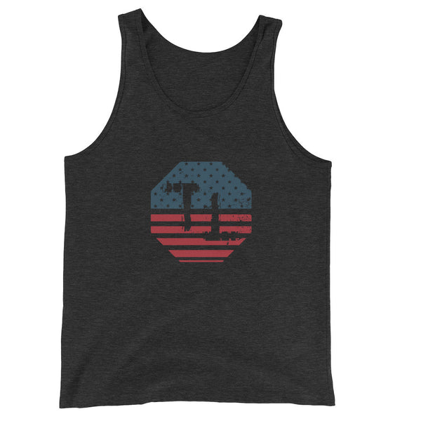 All American Test Tube Logo Tank
