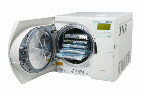 "front image for Scican BRAVO 17V 10"" No Printer Autoclave"