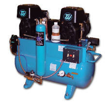 Ultra Clean Lubricated Air Compressor 2 X1HP