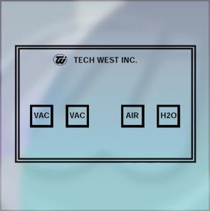 Image of Tech West Dental Remote Control Panels