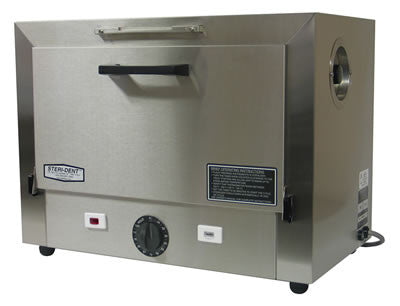 Image of CPAC Steri-Dent Model 300 Dry Heat Sterilizer (3 tray), dental dry heat sterilizer