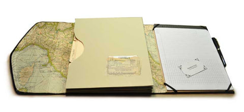 File Folio: Organizer & Note Pad