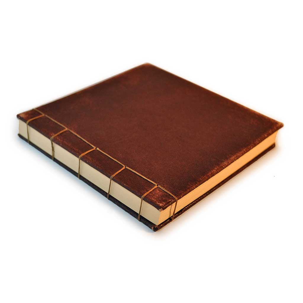 Leather Stab Bound Book
