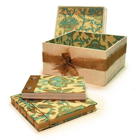 Turquoise and Gold Box Set
